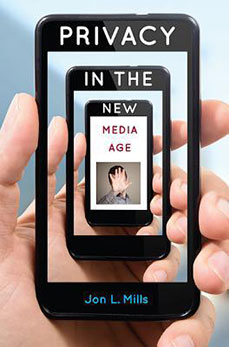 Photo of cover of Privacy in the new media age