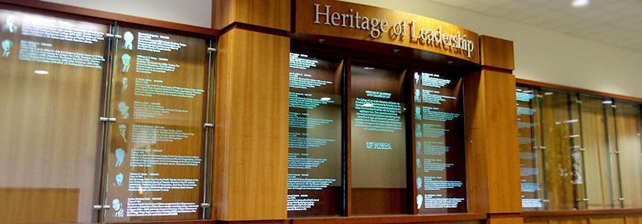 photo of heritage leadership board