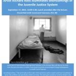 Richard Ross Juvenile Justice Flier